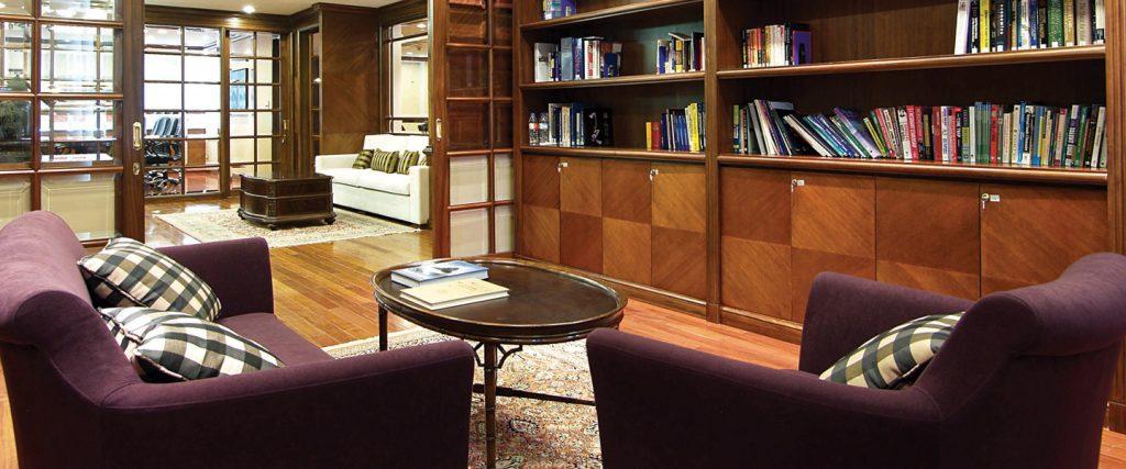 phòng đọc sách của Mekong Capital