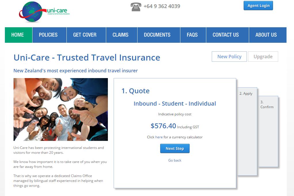 Bảo hiểm unicare-giá tiền