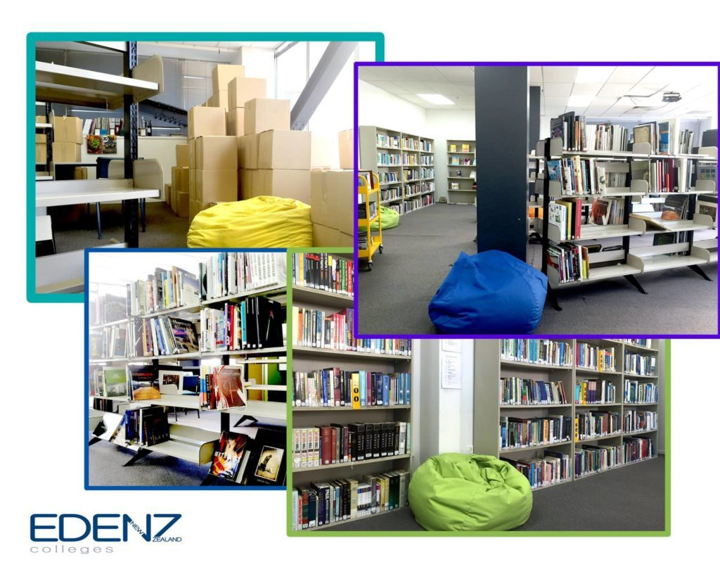 Edenz Colleges - Library