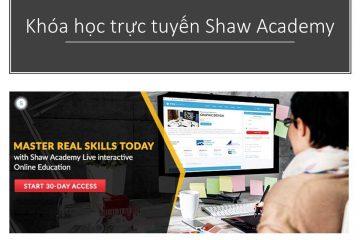 Khoa hoc truc tuyen Shaw academy